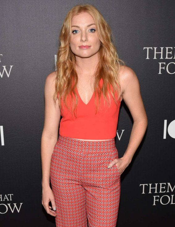 Britt Poulton - 'Them That Follow' Premiere in Los Angeles