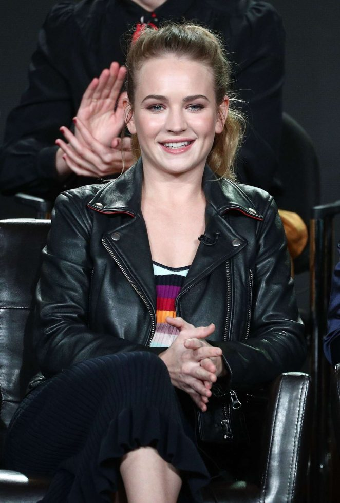 Britt Robertson - ABC 'For the People' TV show panel at the TCA Winter Press Tour in LA