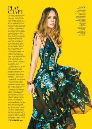 Britt Robertson - InStyle Magazine (April 2015)