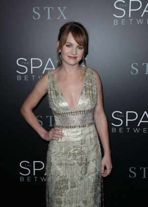 Britt Robertson - 'The Space Between Us' Premiere in Los Angeles