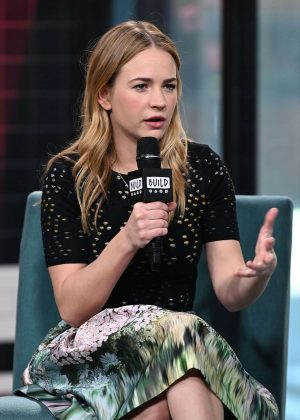 Britt Robertson - Visit AOL Build in NYC