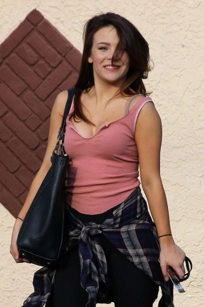 Brittany Cherry - DWTS rehearsal in Hollywood