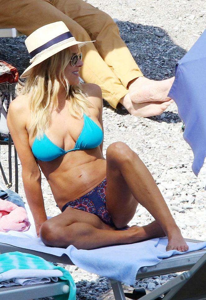 Brittany Daniel - Bikini Candids in Portofino