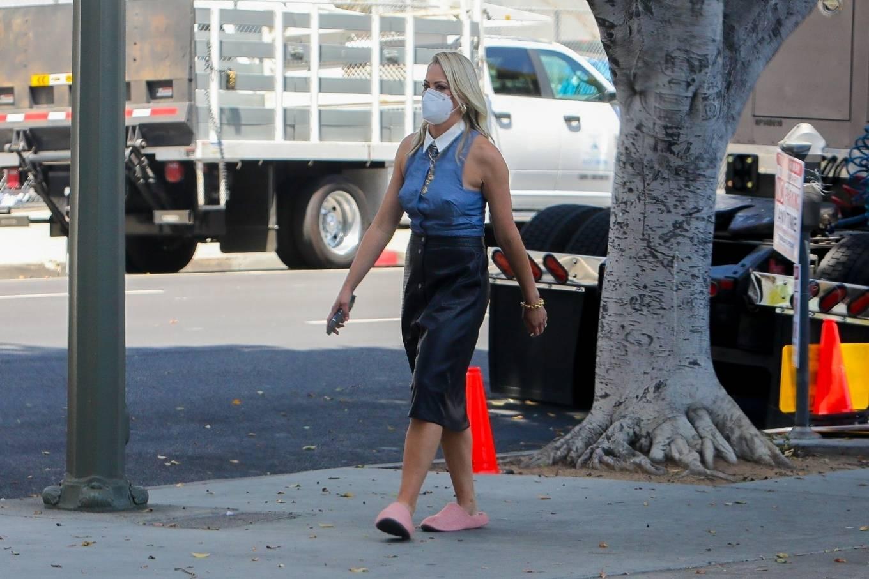 Brittany Daniel 2021 : Brittany Daniel – Cheaper by the Dozen set in Downtown Los Angeles-05
