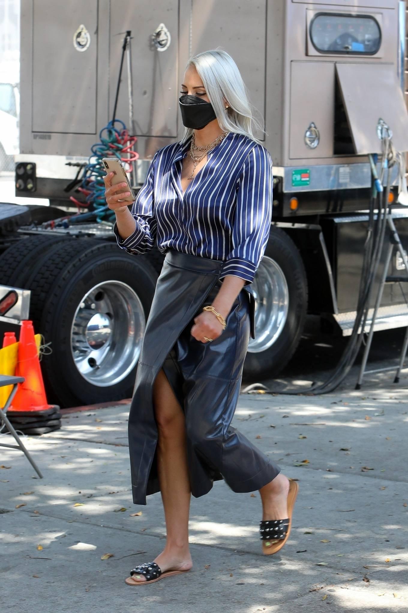 Brittany Daniel 2021 : Brittany Daniel – Cheaper by the Dozen set in Downtown Los Angeles-09
