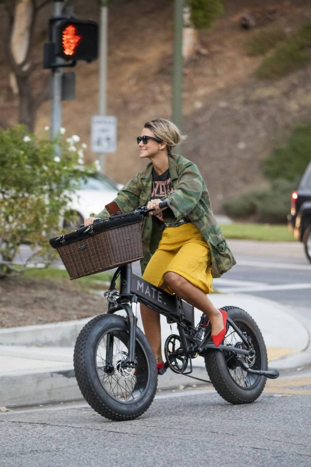 Brittany Furlan - Riding electric cycles in Los Angeles