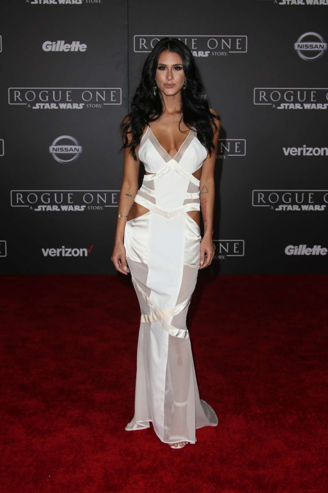 Brittany Furlan 2016 : Brittany Furlan: Star Wars Rouge One Premiere -02