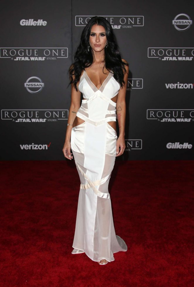 Brittany Furlan 2016 : Brittany Furlan: Star Wars Rouge One Premiere -05