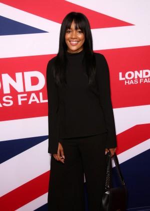 Brittany Hampton - 'London Has Fallen' Premiere in Los Angeles
