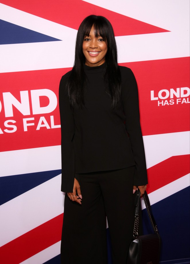 Brittany Hampton - 'London Has Fallen' Premiere in Los Angeles
