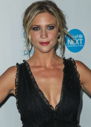 Brittany Snow - 2015 UNICEF Black & White Masquerade Ball in LA
