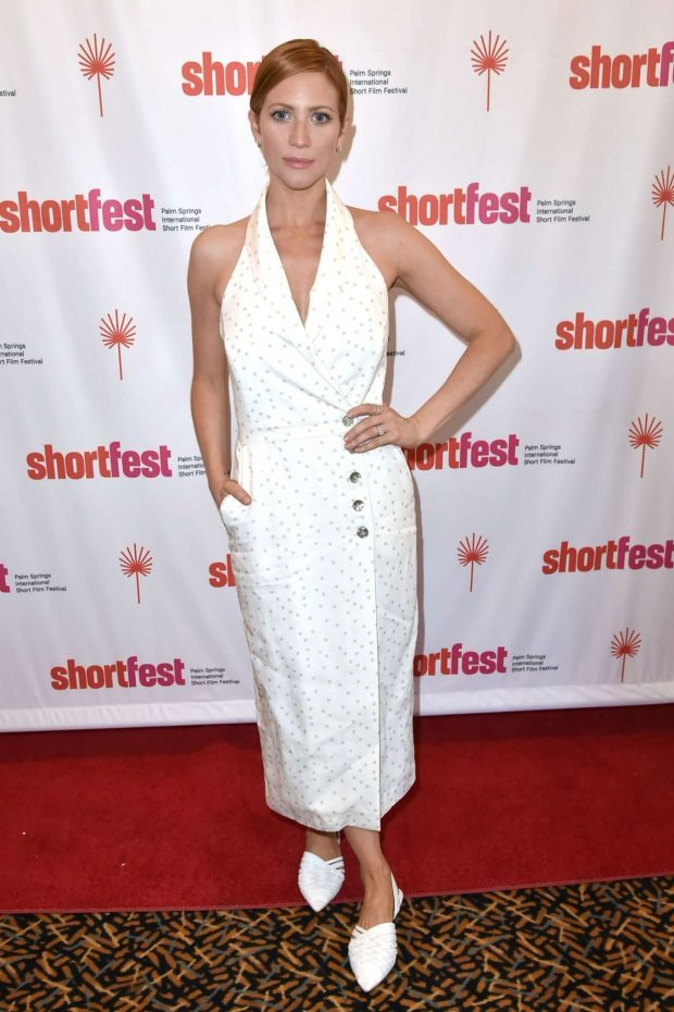 Brittany Snow: 2019 Palm Springs International ShortFest – Day 3 at Camelot Theaters-13
