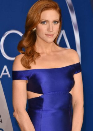 Brittany Snow - 51st Annual CMA Awards in Nashville