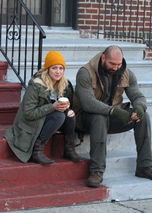 Brittany Snow and Dave Bautista on 'Bushwick' Move Set in Queens