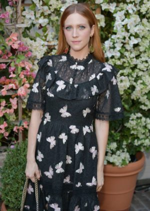 Brittany Snow - CFDA/Vogue Fashion Fund Show and Tea in LA