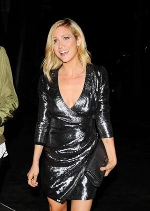 Brittany Snow - Drake And Future Concert in Los Angeles