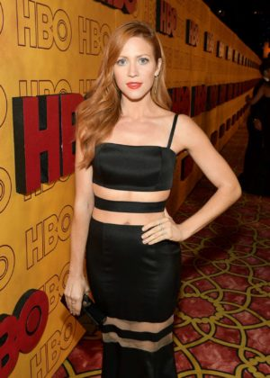 Brittany Snow - HBOs Post 2017 Emmy Awards Reception in Los Angeles