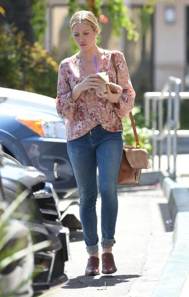 Brittany Snow in Jeans out in Los Angeles