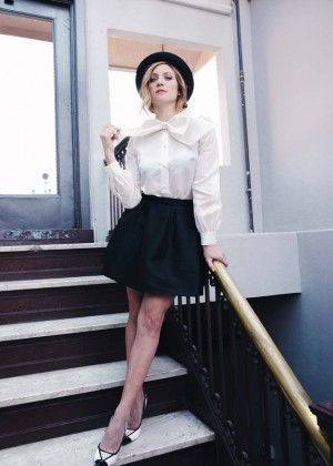 Brittany Snow - LadyGunn Photoshoot (Spring/Summer 2015)