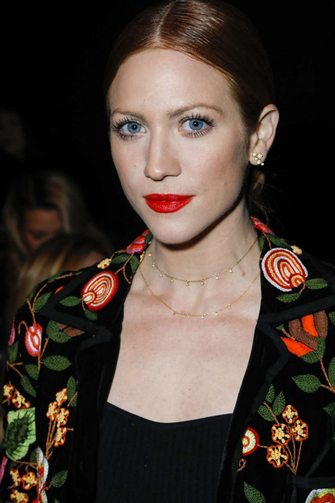 Brittany Snow - Naeem Khan Fashion Show 2018 in New York