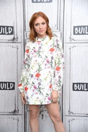 Brittany Snow - On AOL Build in NYC