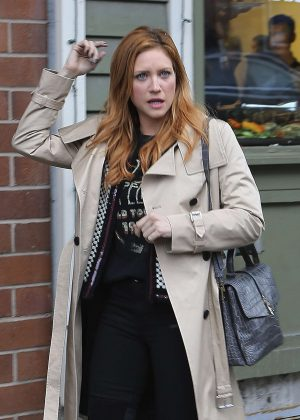 Brittany Snow out at 2017 Sundance Film Festival in Utah