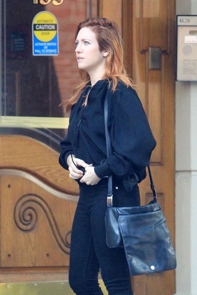 Brittany Snow - Out in Beverly Hills