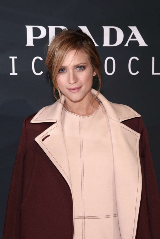 Brittany Snow - Prada The Iconoclasts NYFW 2015 in NYC