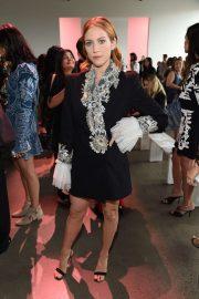 Brittany Snow - Raisavanessa show at New York Fashion Week 2019