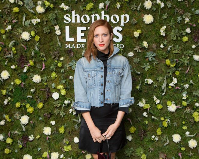 Brittany Snow - Shopbop + Levi's Made and Crafted Celebrate Exclusive Capsule Collection in LA