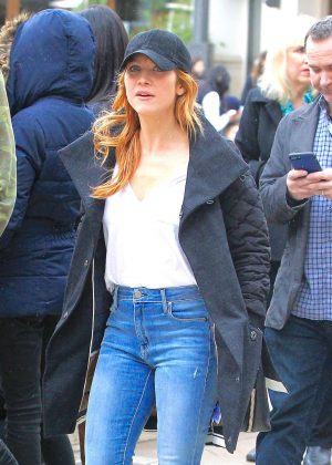 Brittany Snow - Shopping at the Grove in Los Angeles