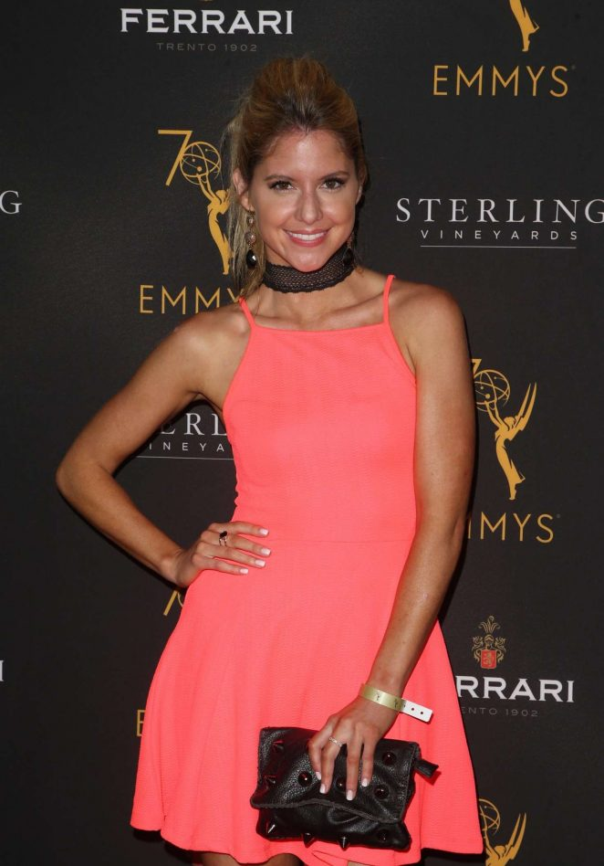 Brittany Underwood - Television Academy Daytime Peer Group Emmy Celebration in LA