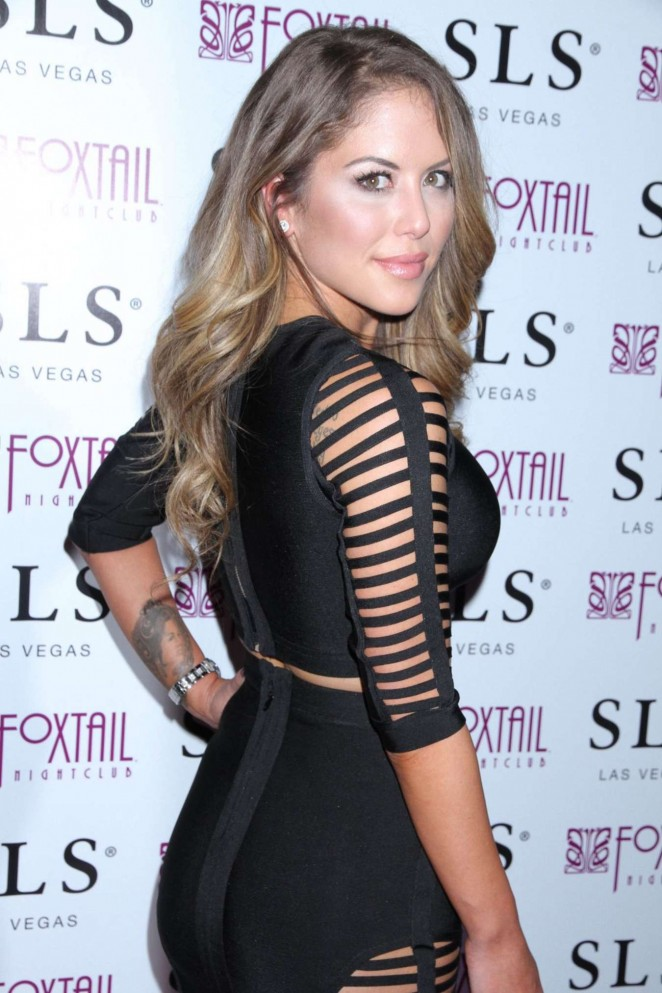 Brittney Palmer at Foxtail Club in Las Vegas