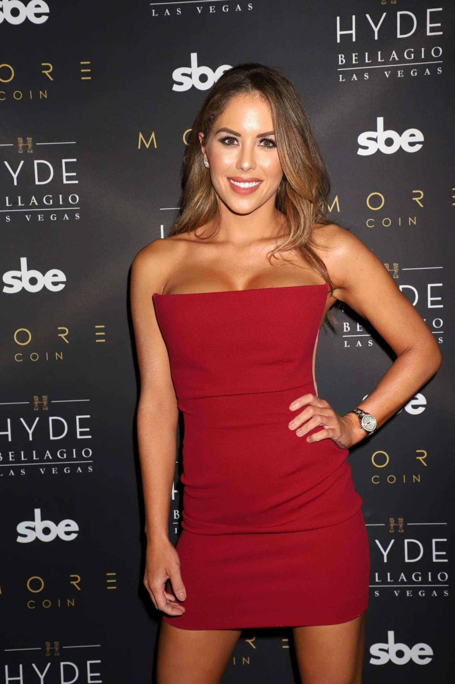 Brittney Palmer - Fight Week Party in Las Vegas