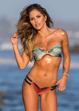 Brittney Palmer in Bikini - Fitness Gurls Magazine Photoshoot in Malibu