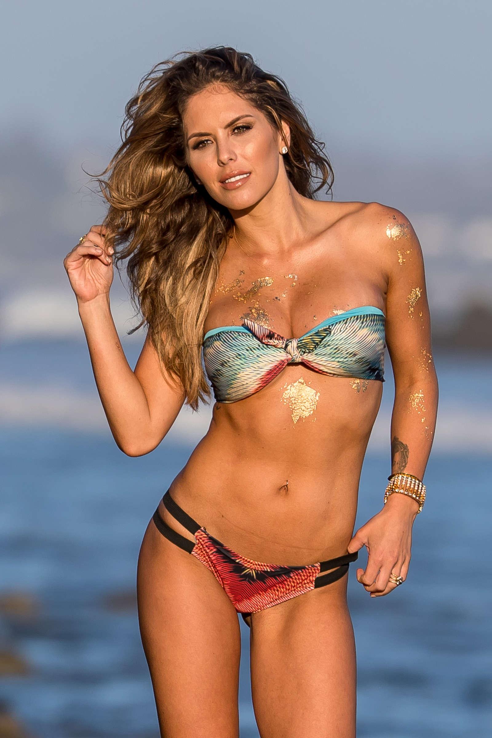 Brittney Palmer in Bikini - Fitness Gurls Magazine Photoshoot in Malibu