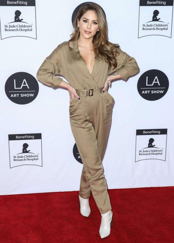 Brittney Palmer - Los Angeles Art Show 2020 Opening Night Gala in LA