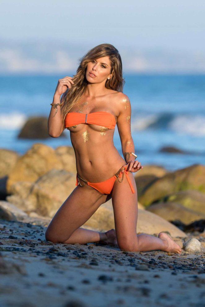 Brittney Palmin Bikini - Fitness Gurls Photoshoot in Malibu