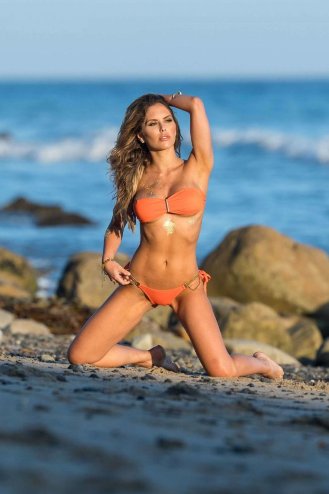 Brittney Palmer in Bikini Fitness Gurls Photoshoot in Malibu