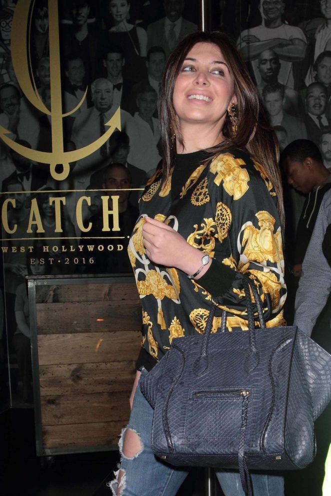 Brittny Gastineau at Catch LA in West Hollywood