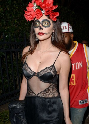 Brittny Gastineau - Casa Tequila Halloween Party in Beverly Hills