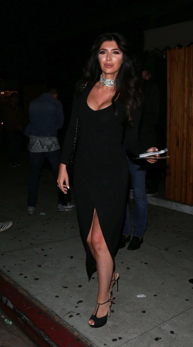 Brittny Gastineau Leaving The Nice Guy in West Hollywood