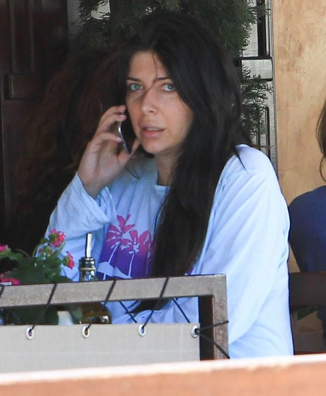 Brittny Gastineau out to lunch in Beverly Hills