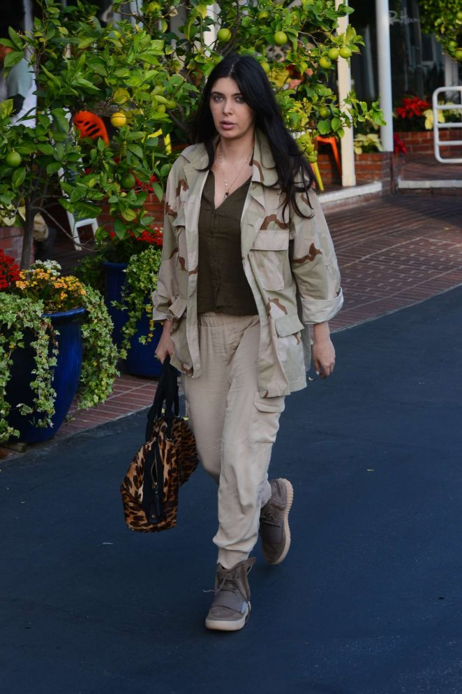 Brittny Gastineau - Shopping at Fred Segal in West Hollywood