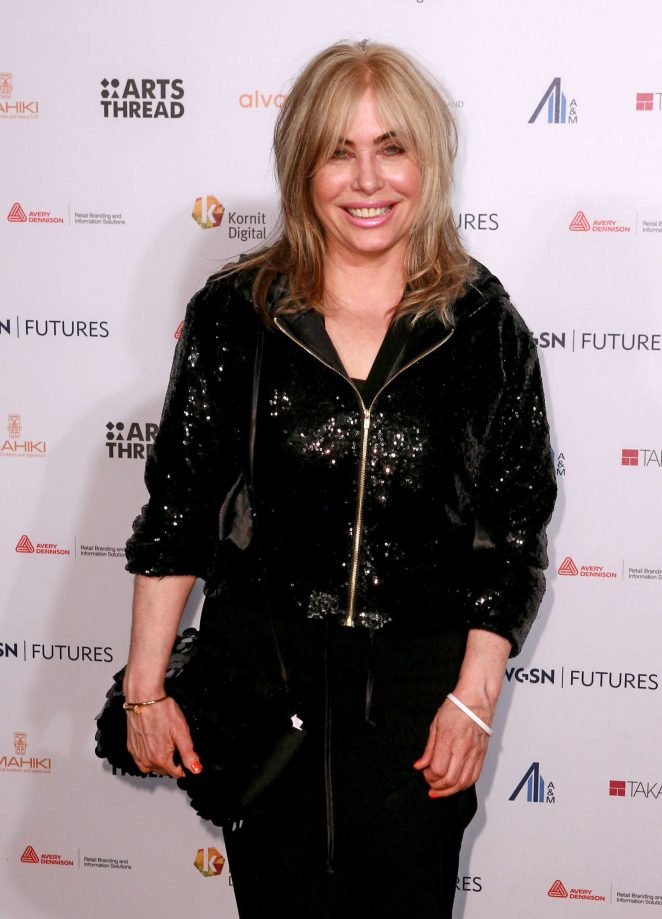 Brix Smith - WGSN Futures Awards 2016 in London