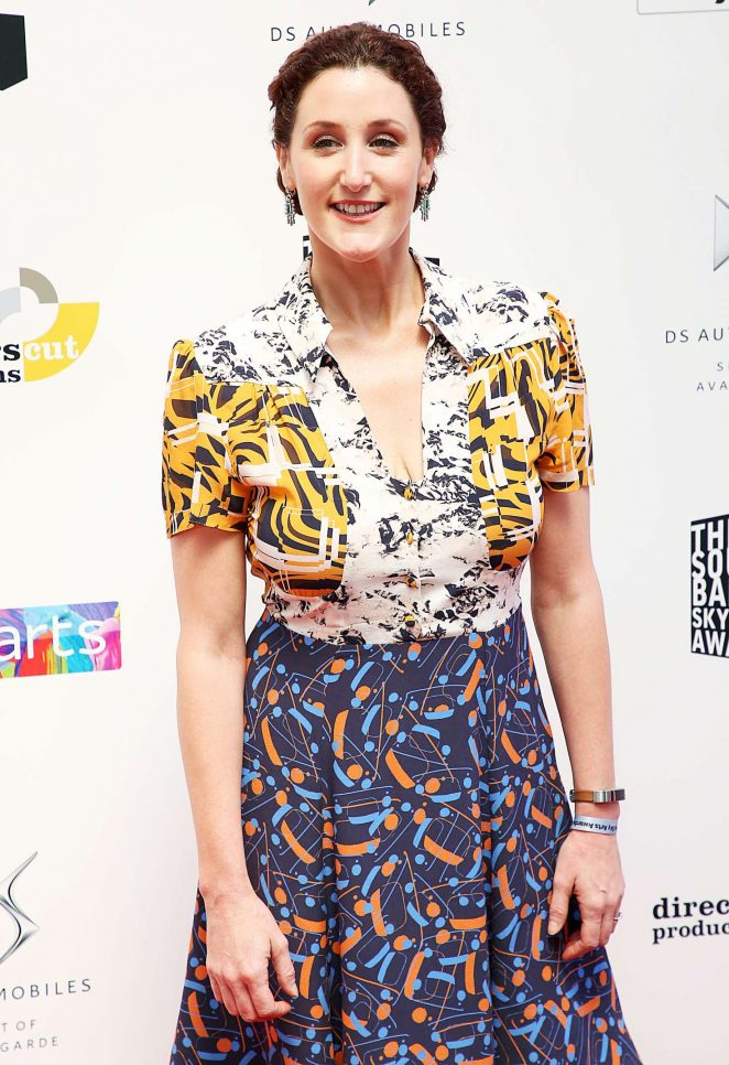 Bronagh Waugh - Southbank Sky Arts Awards 2018 in London