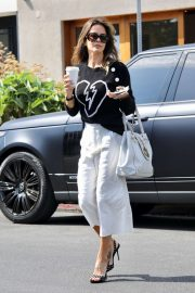 Brook Burke in White Pants - Out in West Hollywood