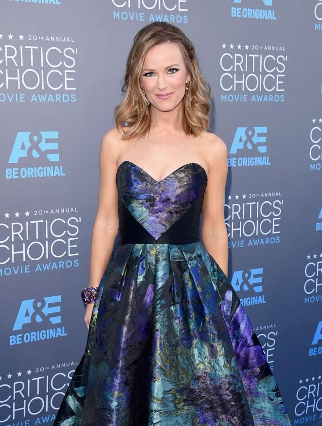 Brooke Anderson - 2015 Critics Choice Movie Awards in LA