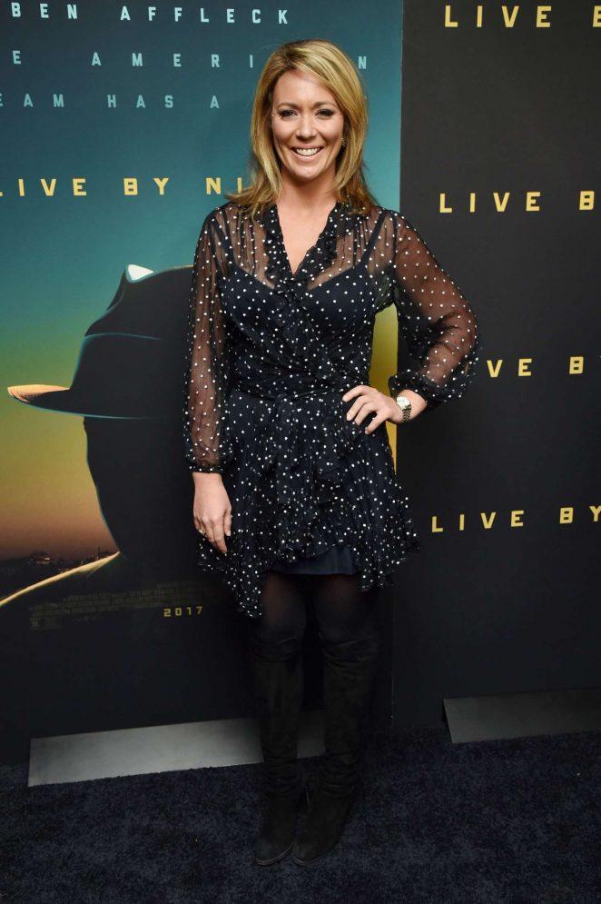 Brooke Baldwin - 'Live by Night' Screening in New York