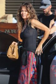 Brooke Burke - Arrives at Nobu in Malibu